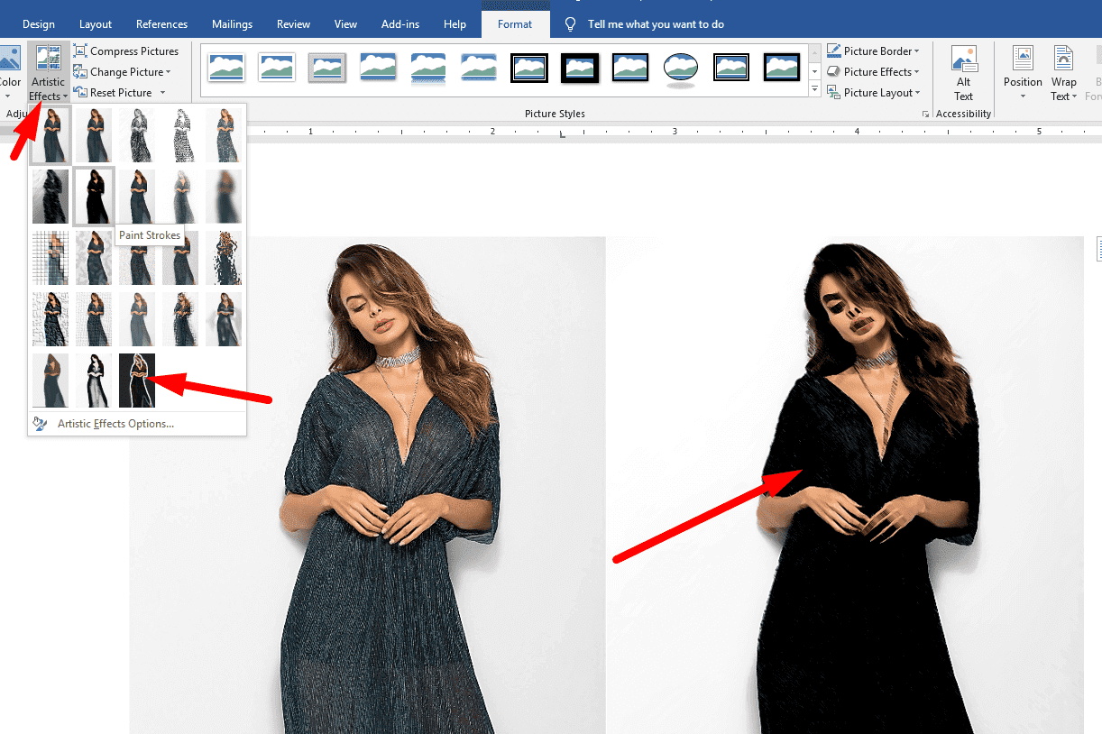 Forget Photoshop - You can edit photos in Microsoft Word 7